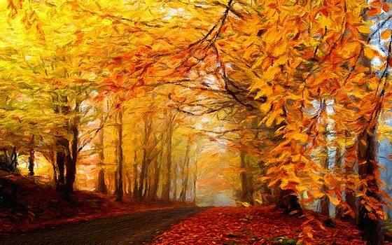 Landscape Artwork by Malinda Spaulding