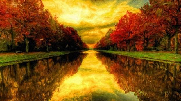 Painters Landscape by Malinda Spaulding