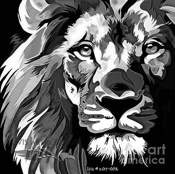 50 shades of LION by Scott Ashgate for Livis Art