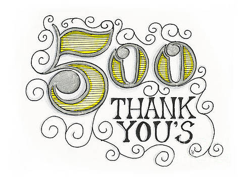 500 Thank Yous by Cindy Garber Iverson