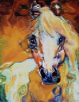 51 Horse by Nixo by Nicholas Nixo