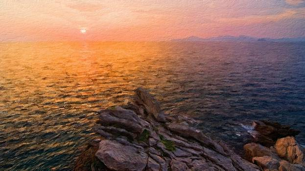 Romantic Landscape by Malinda Spaulding