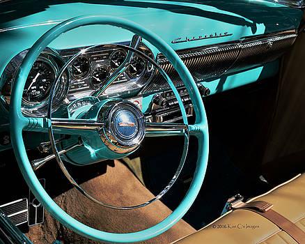 54 Chevy Steering Wheel by Kae Cheatham