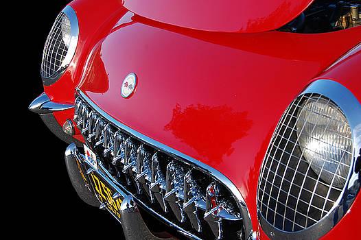 54 Corvette  by Bill Dutting