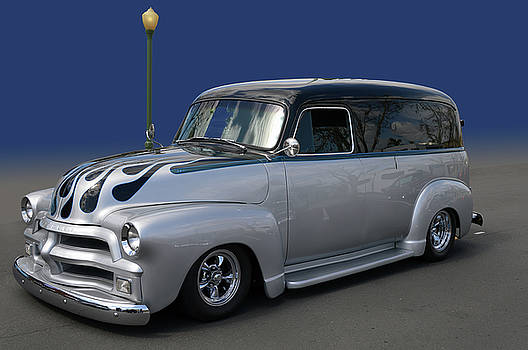 54 Chev 3100 Panel by Bill Dutting