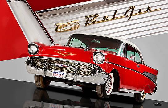 57 Chevrolet Bel Air Hardtop by Kevin Moody