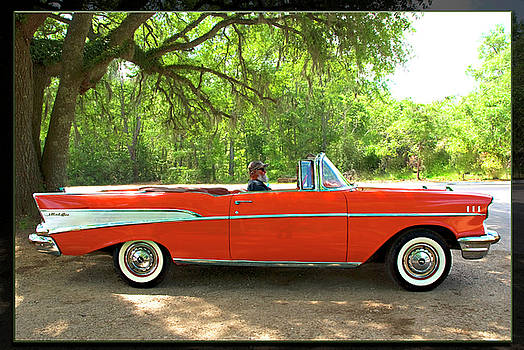 57 Chevy Convertible by Frank Feliciano