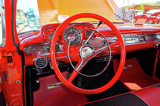 Mike Shaw - 57 Red Chevy Bel Air