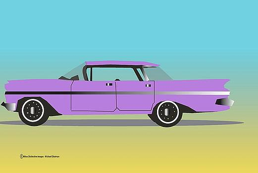58' Chevy Bel Air by Michael Chatman