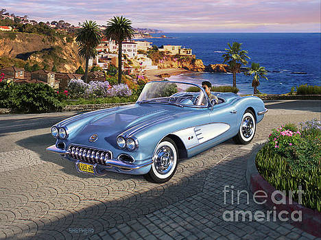 '58 Corvette Roadster by Stu Shepherd
