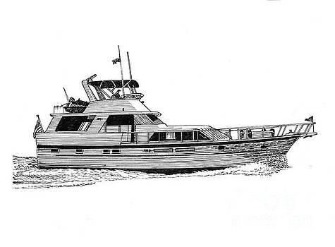 Jack Pumphrey - 58 Foot Hatteras Motoryacht