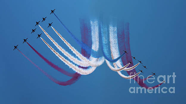 Red Arrows by Angel Tarantella