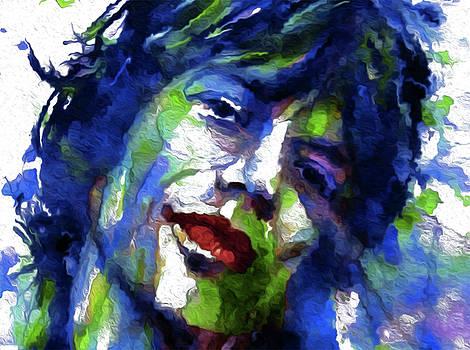 59 Mick Jagger by Nicholas Nixo