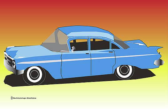 59'Chevy Bel Air by Michael Chatman