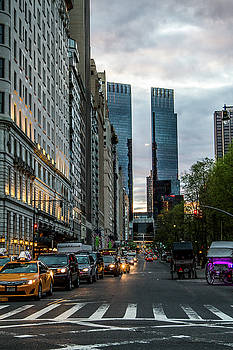 59th And 5th by Robert J Caputo