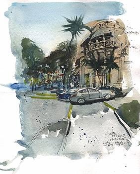 5th Avenue Naples Bustle by Gaston McKenzie