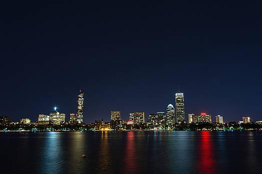 Boston Skyline by James Wellman
