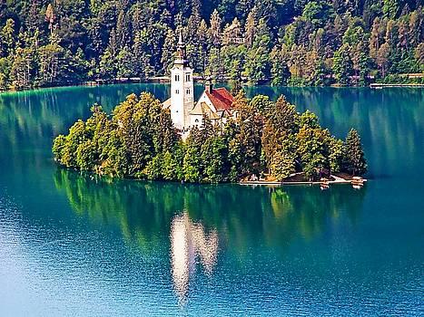 Church of the Assumption - Lake Bled, Slovenia by Joseph Hendrix