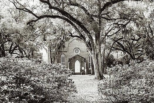 Scott Pellegrin - Grace Episcopal Church - sepia