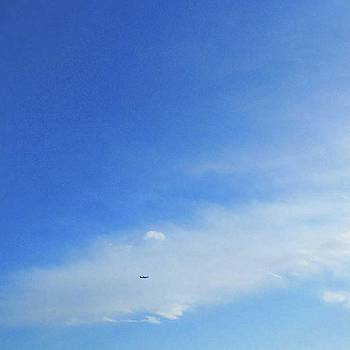 #love_all_sky #空が好き #飛行機 by Bow Sanpo