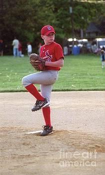 Micheal M Baseball Game by John Ryan