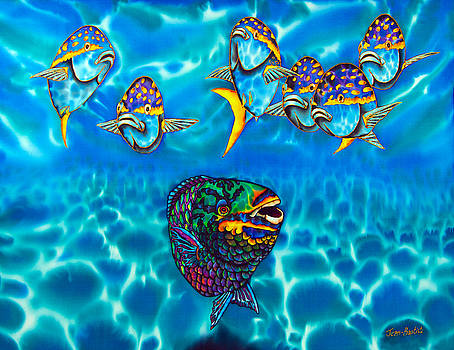 Parrotfish by Daniel Jean-Baptiste