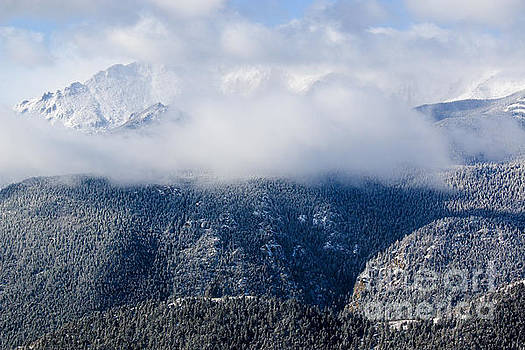 Steve Krull - Pikes Peak in Snow
