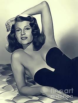 Rita Hayworth, Vintage Actress by John Springfield
