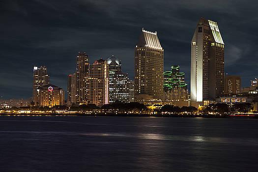 San Diego Skyline  by Timothy Johnson