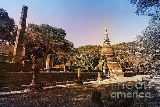 Sukhothai, Thailand by Atiketta Sangasaeng