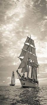 Cliff Wassmann - Tall Ships Vertical Panoramic