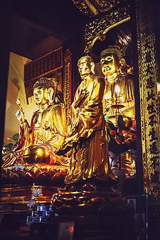 Temple in Hanoi, Viet Nam by Eduardo Huelin