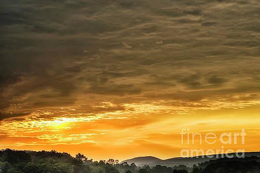 West Virginia Sunrise  by Thomas R Fletcher