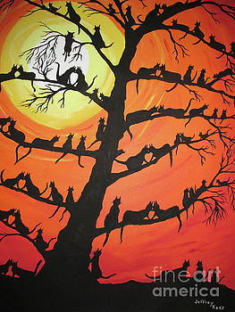 60 Cats In The Love Tree by Jeffrey Koss