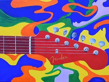60's Fender by Celene Terry