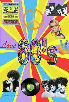 60's Poster by Michael Chatman