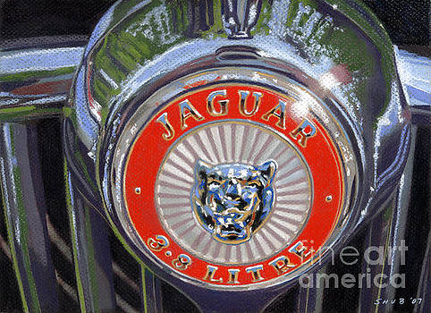 '62 Jaguar Emblem by Stephen Shub
