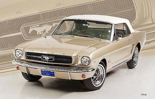 65 Ford Mustang Convertible by Kevin Moody