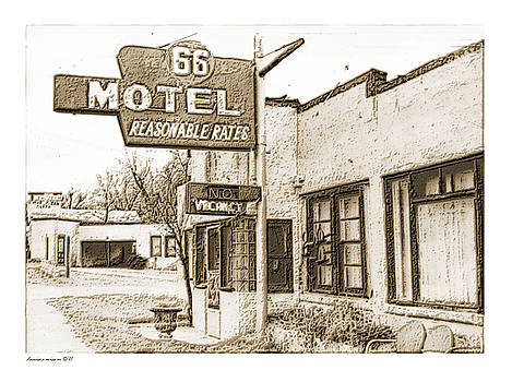 66 Motel - Reasonable Rates by Margie Middleton