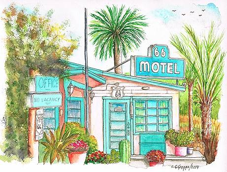 66 Motel in Needles, California by Carlos G Groppa