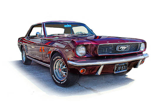 69 Ford Mustang by Mamie Thornbrue