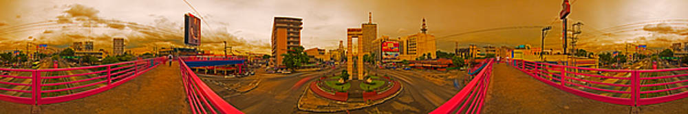 Rolf Bertram - 6X1 Philippines Number 332 Welcome Rotonda Quezon City Manila