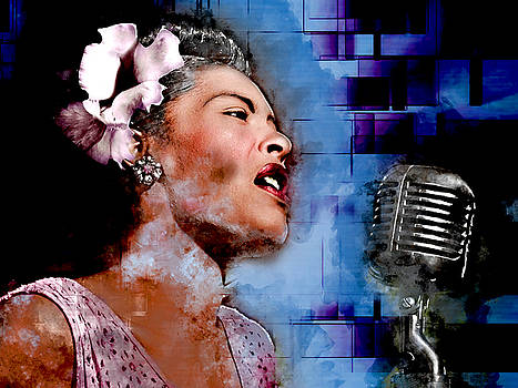 Billie Holiday by Marvin Blaine