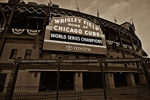 Chicago Cubs by Patrick Warneka