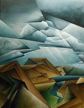 Cubist Landscape  by Brandon Allebach