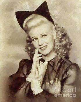 Mary Bassett - Ginger Rogers Hollywood Actress and Dancer