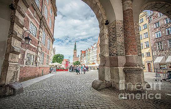 Mariusz Talarek - Green Gate, Long Market Street, Gdansk, Poland