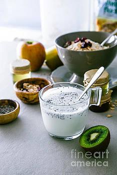 Healthy breakfast variety by Mythja Photography