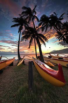 Kihei Canoes by James Roemmling