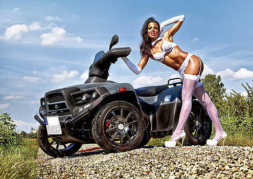 Rod Meier - Lola Cars and Bikes - Calendar Image